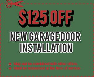 Commercial Garage Door Installation Coupon