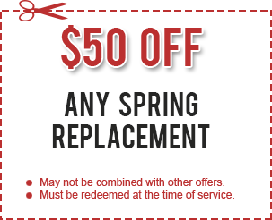 Spring Replacement Discount